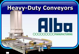 Alba Heavy Duty Roller Conveyors