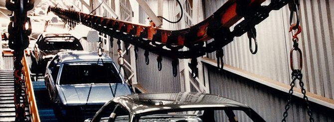 Daifuku Webb Conveyors, Unibeam Overhead Conveyors