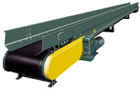 Hytrol CRB Conveyors - Troughed Roller Bed Conveyor