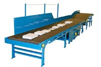"Hytrol Parcel Belt Conveyors ""Models Hytrol FXG and HPC Conveyor"""