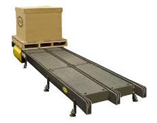 Hytrol Model DC-63 Three Strand Drag Chain Conveyor