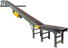 Hytrol RBI - Floor to Floor Roller Bed Incline Conveyors