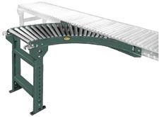 Hytrol SSRS / SARS - 1-3/8 in. Dia. Gravity Roller Spur Gravity Roller Conveyor