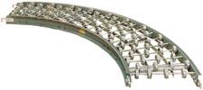Hytrol SWC / AWC - Gravity Skatewheel Conveyor Curve