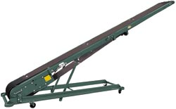 Hytrol B Portable Conveyor (Folding Cleated Conveyor)
