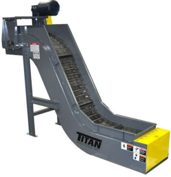 Titan Model 630 Hinged Steel Belt Conveyor