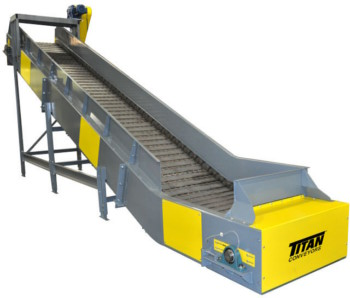 Titan Model 660 Scrap Conveyor - Recycling Conveyor