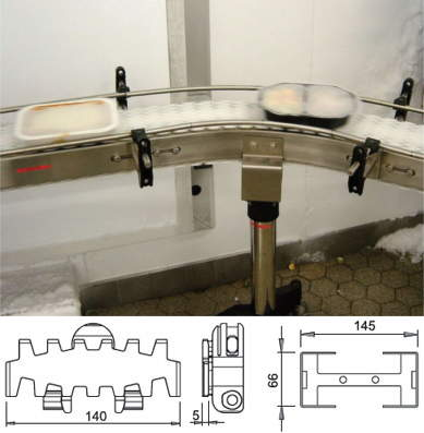 DL2 Plastic Chain Conveyor