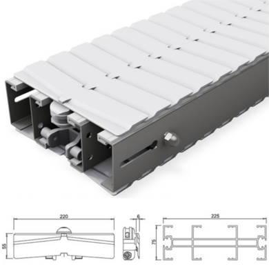 DX2 Plastic Chain Conveyor