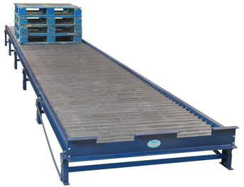 Heavy Duty Gravity Roller Pallet Conveyor