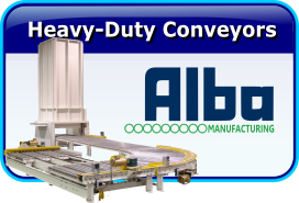 Alba Heavy Duty Roller Conveyors