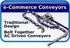 e-Commerce-AC Driven Conveyors