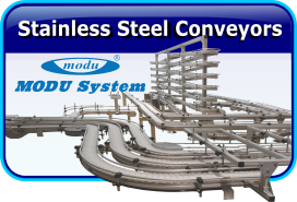 Stainless Steel Conveyors by MODU System