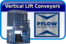 PFLOW Vertical Lift Conveyors