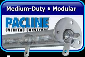 PACLINE Medium-Duty • Modular Monorail System & Trolley System