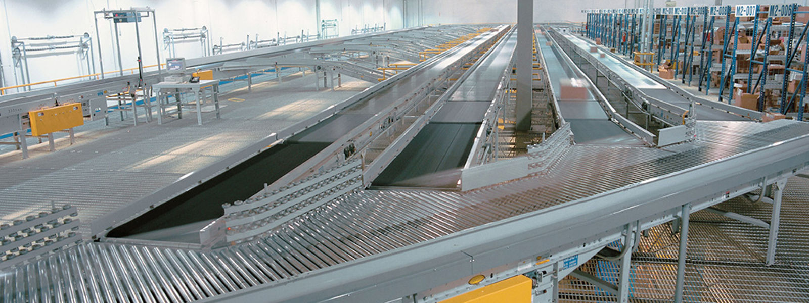 Hytrol Wearhouse Conveyors