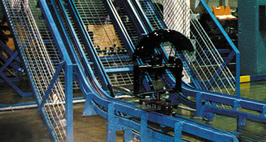 Wide Wing Inverted Power & Free Conveyors