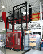 Fully Automated Vertical Reciprocating Conveyor Systems