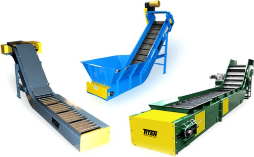 Titan Hinged Steel Belt Conveyors