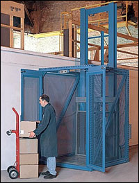 PFlow | Hydraulic Vertical Conveyor Series D Lift