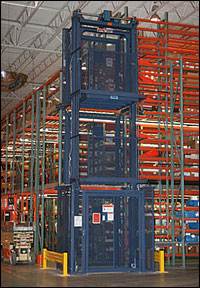 Heavy-Duty Mechanical Vertical Reciprocating Conveyor - ""