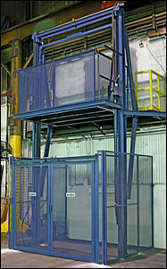 Hydraulic Vertical Conveyors