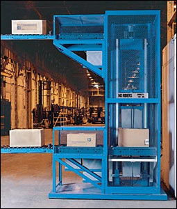 Mechanical Vertical Conveyor Lift