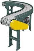 Hytrol WC - Wire Mesh Belt Curve Conveyors