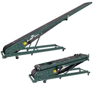 Hytrol B Folding Cleated Portable Conveyor