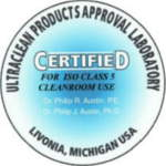 Ultraclean Clean Room Certifications