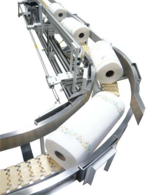 MODU Stainless Steel Conveyors Paper Line