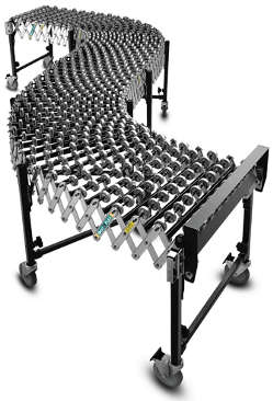 Best Flex Conveyor 200 Gravity Skatewheel