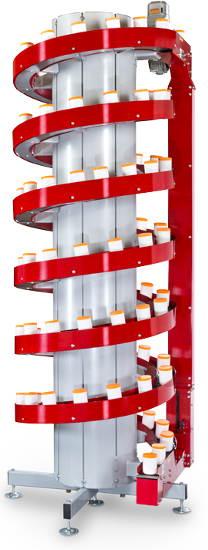 Narrow Trak Spiral Conveyor