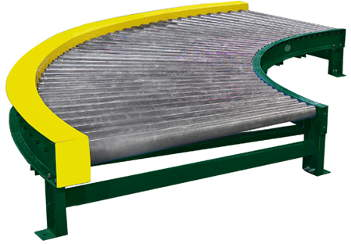 Heavy Duty Chain Driven Live Roller Conveyor Curve