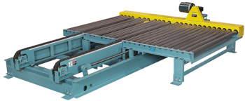 Through-Frame Heavy Duty Chain Transfer Conveyor