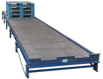 Heavy Duty Gravity Roller Pallet Conveyor