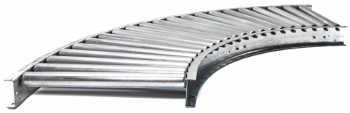 Atlantis 1.9″ Gravity Roller Conveyors (Curve)