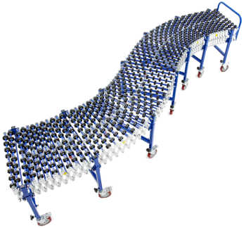 Atlantis Flexible Wheel Gravity Conveyor