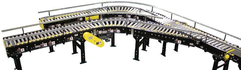 V-belt Driven Live Roller Conveyor